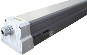 LED prachotesné teleso 150cm 70W neutrálna biela Dust prefi s núdzovým modulom
