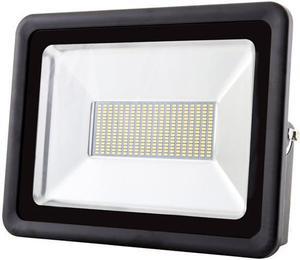 Čierny LED reflektor RB 200W SMD studená biela
