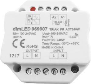 LED triakový stmívač max.240W