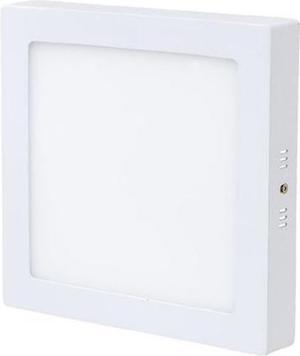 Stmievateľný biely prisadený LED panel 225 x 225mm 18W teplá biela