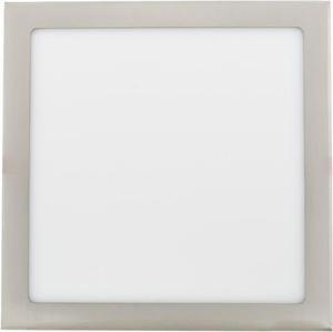 Stmievateľný chrómový vstavaný LED panel 300 x 300mm 25W teplá biela