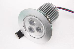 RGB podhledové svietidlo 12W 12VDC
