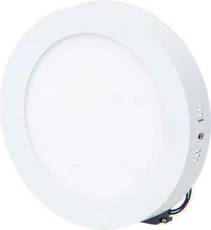 Biely prisadený LED panel 175mm 12W teplá biela