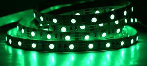 LED pásik 12W/m vnútorný zelená 12V