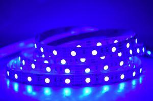 LED pásik 12W/m vnútorná modrá 12V
