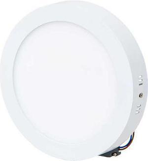 Biely prisadený LED panel 225mm 18W teplá biela