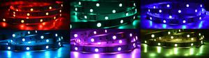 RGB LED pásik 150SMD vnútorné 12V