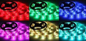 RGB LED pásik 24V 150 24V