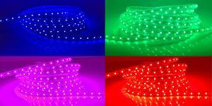 LED pásik 230V5 RGB 230V 230V