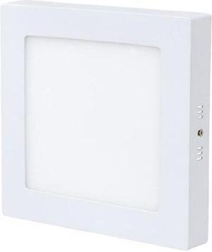 Biely prisadený LED panel 175 x 175mm 12W teplá biela