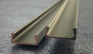 LED profil Mikro-2 bronzový 2m