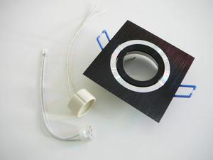Podhľadový rámček D10-1B čierny