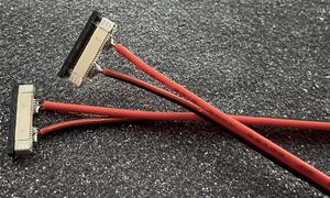 1barva prípojka pre LED pásik s káblom 10mm
