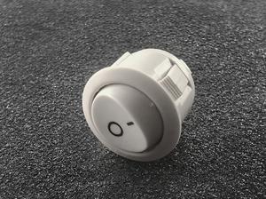 Vypínač kolískový 3a / 250V biely