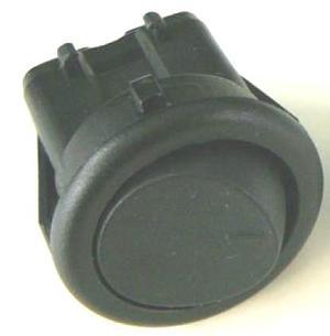 Vypínač kolískový 3a / 250V čierny