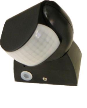 Pohybové čidlo IS15-IP65 farba čierna