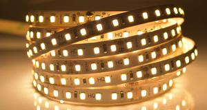 LED pásik 9,6W/m vnútorná teplá biela 24V