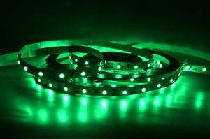 LED pásik 9,6W/m vnútorný zelená 24V