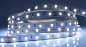 LED pásik 12W/m vnútorný záruka 5 rokov studená biela 24V