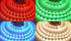 24V RGBW4v1 WW 19,2W vnútorné LED pásik 24V