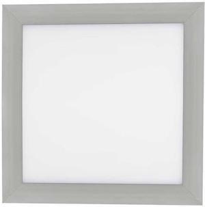 Strieborný vstavaný LED panel 300 x 300mm 18W teplá biela