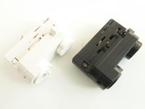 Adaptér 3F pre lištové svietidlá farba biela