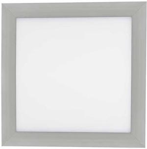 Strieborný vstavaný LED panel 300 x 300mm 18W biela