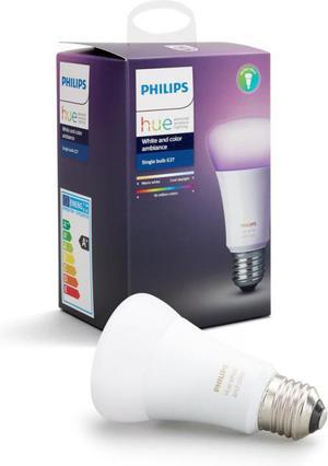 Philips HUE LED žiarovka 10W RGB E27 806lm 3000 6000K 16 mil. Farieb