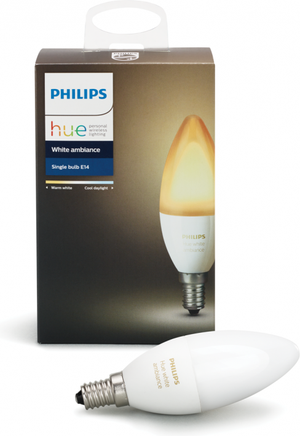 Philips HUE LED žiarovka E14 6W 470lm 3000 6000K