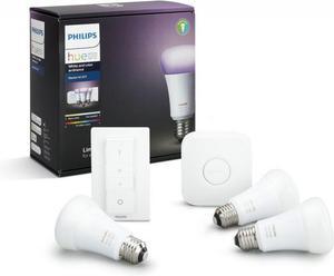 Philips HUE white and Color Ambiance 10W E27 RGB + ovládač a mostík