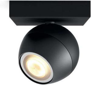 Philips HUE Buckram svietidlo bodové LED GU10 5,5W 250l 3000 6000K čierna 50471/30 / P8