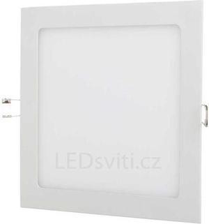 Stmievateľný biely vstavaný LED panel 300 x 300mm 25W neutrálna biela