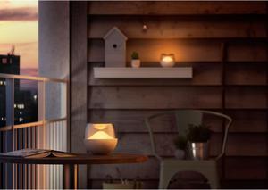 Belly prenosná lampa LED RGB 3W 100lm biela/číra