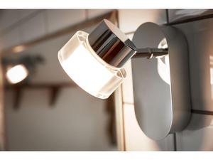 Resort svietidlo nástenné LED 4,5W 500lm 2700K IP44 lesk.chrom