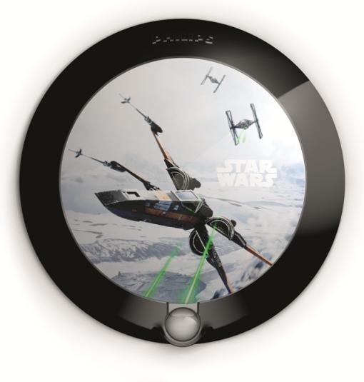 Disney Star Wars noční svít. so senzorom LED 0,06W bez batérií