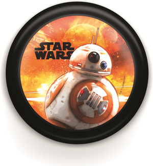 Disney Star Wars svietidlo orientačné LED 0,3W 2700K bez batérií