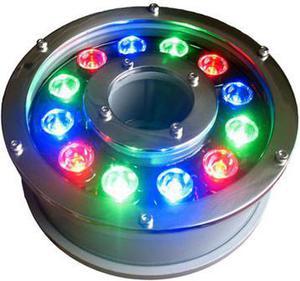 LED fontánové svetlo RGB PAR56 12W 24V DMX