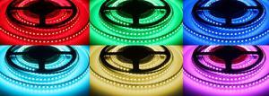 LED pásik 24RGB 12024 120LED /m 24V