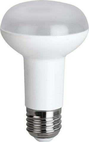 LED žiarovka E27 R63 7W SMD teplá biela