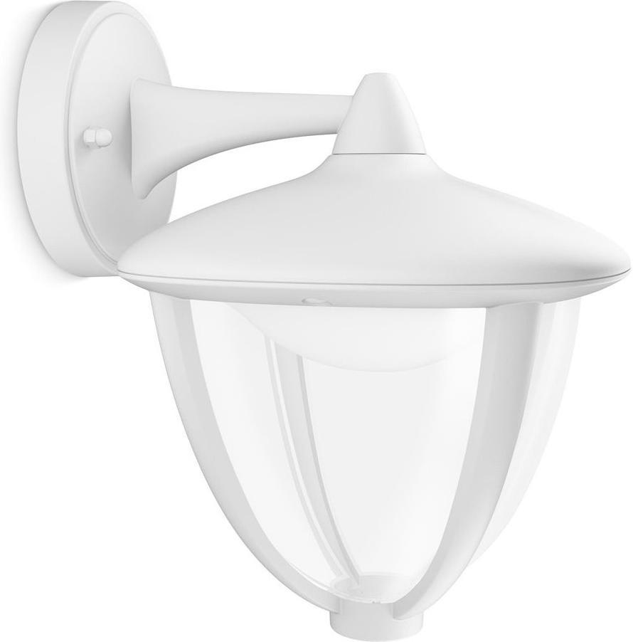 Philips LED Robin Lampe außen Wand weisse 4,5W 154713116 | GUTE LEDS.DE
