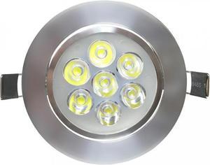 LED Spotlicht 7x 1W Tageslicht