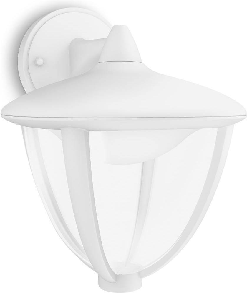 Philips LED Robin Lampe außen Wand weisse 4,5W 15471/31/16