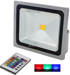 Silbern RGB LED Strahler 50W mit IR entfernten bedienungem