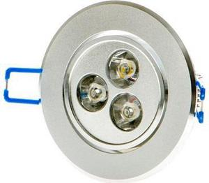 LED Spotlicht 3x 1W Warmweiß