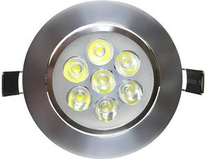 LED Spotlicht 7x 1W Warmweiß