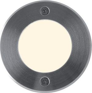 Boden einbaustrahler LED Lampe 230V 1W 9LED Warmweiß