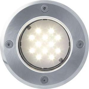 Boden einbaustrahler LED Lampe 230V 1W 12LED Warmweiß