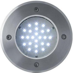 Boden einbaustrahler LED Lampe 230V 2W 24LED Kaltweiß