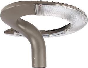 Silbernes aufsetzbares außen Lampe 34W Warmweiß