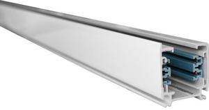 DrehstromSchiene 3F für Drehstromleuchten 200cm Weiße Schiene